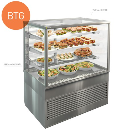 Countertop And Standing Display Cabinets Cossiga